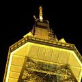 写真: 下から見上げた名古屋テレビ塔のイルミネーション - 5