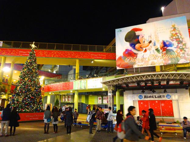 アスナル金山のクリスマス・イルミネーション、今年(2014)はディズニーと提携? - 11