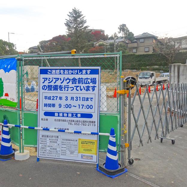 建物がすっかり取り壊された、東山動植物園 旧・アジアゾウ舎 - 2