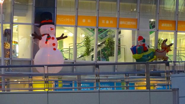 ルネサンスシティ勝川のクリスマスデコレーション 2014 No - 03