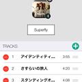 Music Launcher 1.1 No - 4:プレイリストのカスタマイズ機能が追加!