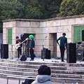 写真: 鶴舞公園:珍しく普選記念壇でライブ♪ - 2