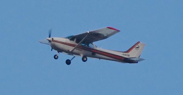 愛知県知事選挙を告知するセスナ機 - 2