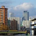 写真: 住吉橋から見た名駅ビル群 - 1