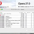 Photos: Opera 27:ブックマークは、拡張機能で実現?! - 1