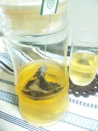 ルピシアあんず(焙じ茶)水出し