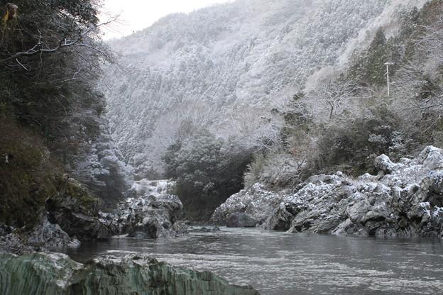 鮎喰川 冬景色1