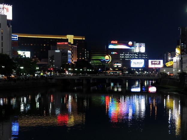 中洲(夜) 2