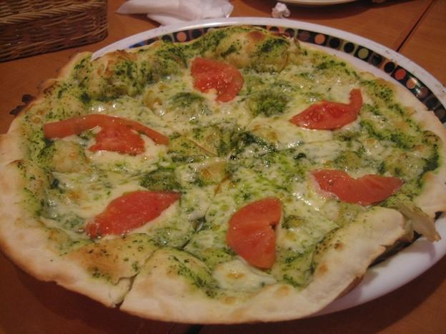 フレッシュトマトのジェノバ風