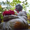 Photos: 明月院花想い地蔵 #湘南 #鎌倉 #mysky #花