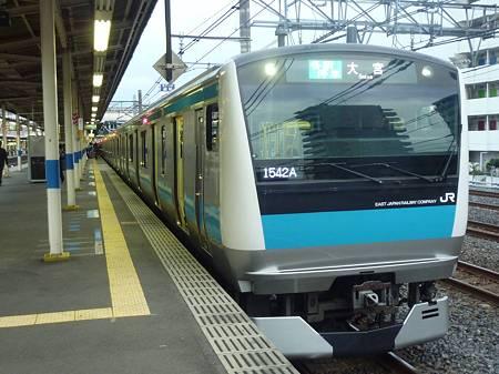 JR 京浜東北線 E233系1000番台 ウラ118編成