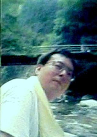 1996年4月20日・愛媛県面河渓〔おもごけい〕にて