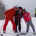 Photos: 親子でスキー?