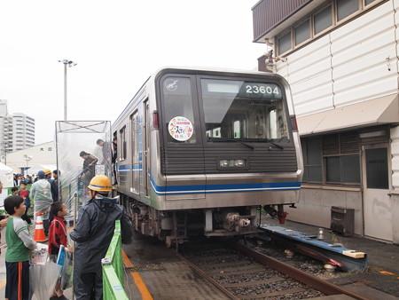 にゃんばろう駅にいる20系 緑木検車場01