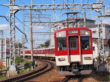 近鉄6400系準急 近鉄南大阪線土師ノ里~道明寺01
