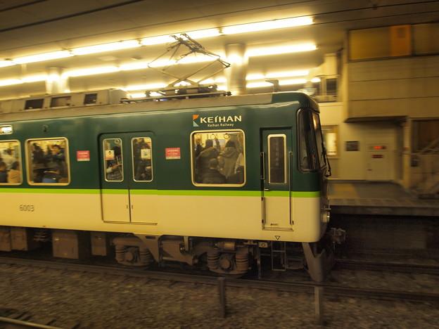 京阪6000系急行 京阪本線京橋駅04