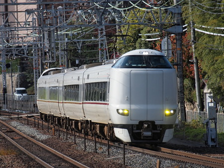 287系回送 東海道本線山崎駅02
