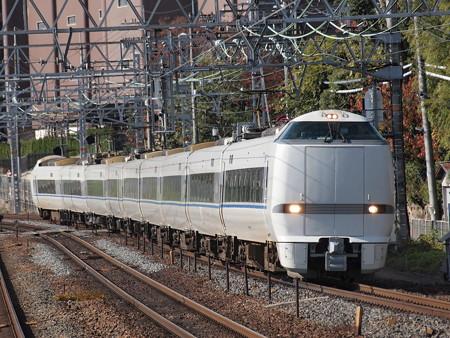 683系特急サンダーバード 東海道本線山崎駅01