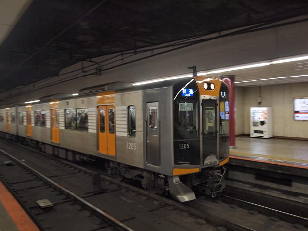 阪神1000系普通 近鉄奈良線上本町駅03
