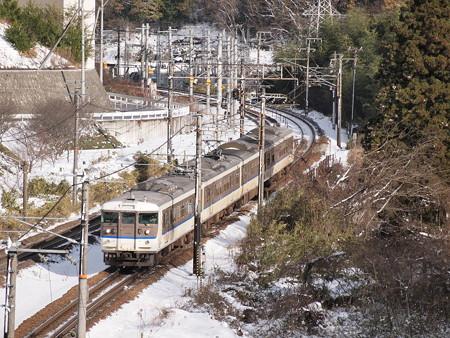 115系カフェオレ 山陽本線セノハチ