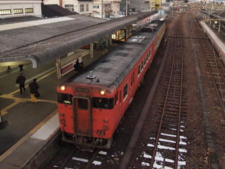 キハ47 岩徳線岩国駅