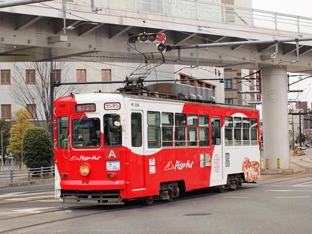 熊本市電1090形  熊本駅前03