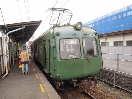 熊本電鉄5000系  菊池線上熊本駅03