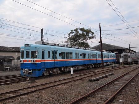 熊本電鉄200系 北熊本駅