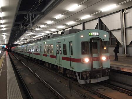 西鉄5000形急行 天神大牟田線薬院駅03