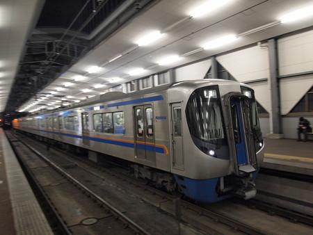 西鉄3000形普通 天神大牟田線薬院駅02