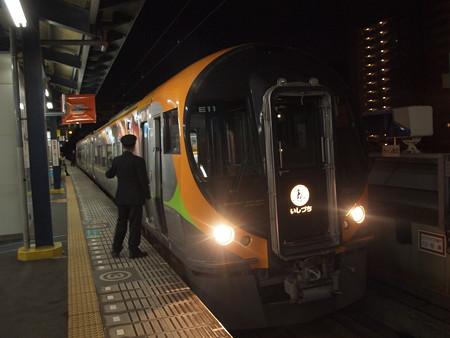 8600系特急いしづち 予讃線坂出駅