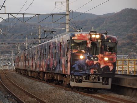 113系アラーキー列車 予讃線香西~高松