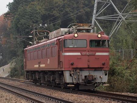 EF81単機 鹿児島本線天拝山~原田