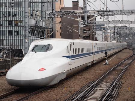 N700A回送 博多南線博多駅