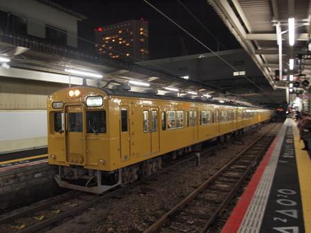 105系末期色普通 山陽本線広島駅03