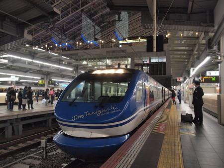 HOT7000系 スーパーはくと 東海道本線大阪駅05