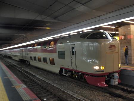 285系サンライズ出雲 東海道本線大阪駅01