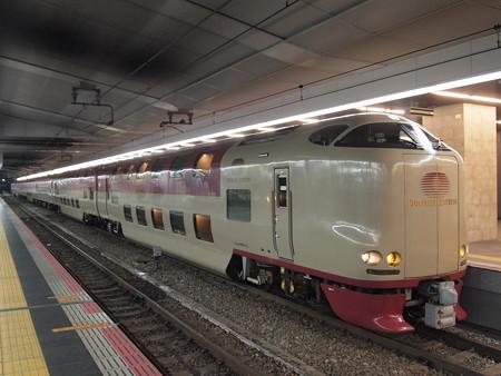 285系サンライズ出雲 東海道本線大阪駅03