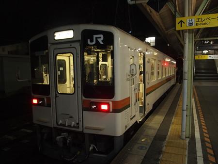 キハ11形普通 名松線松阪駅01