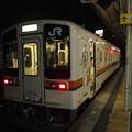 写真: キハ11形普通 名松線松阪駅01
