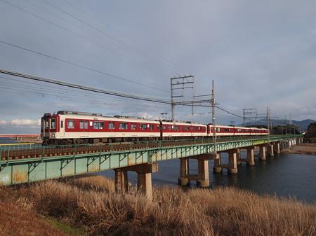 近鉄2600系急行 近鉄山田線宮町~小俣