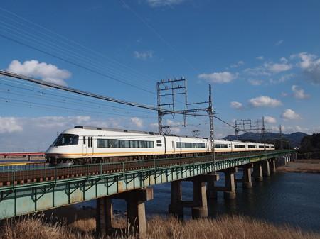 近鉄21000系名伊特急 山田線宮町~小俣01