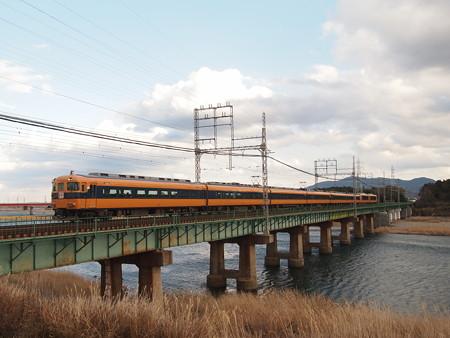 近鉄12600系特急 近鉄山田線宮町~小俣
