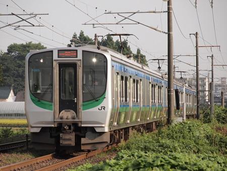 E721系普通 東北本線名取~南仙台
