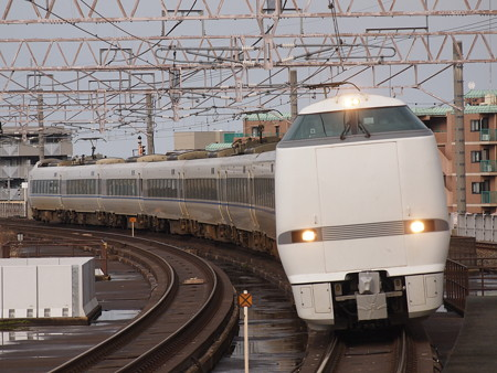 683系特急サンダーバード  湖西線大津京駅03