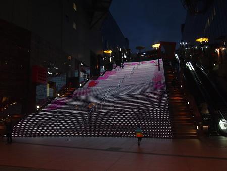 京都駅の階段01