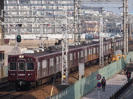阪急3300系準急 阪急京都線茨木市~南茨木01