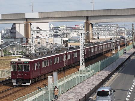 阪急7300系準急 阪急京都線茨木市~南茨木02