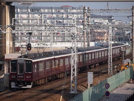 阪急8300系普通 阪急京都線茨木市~南茨木01