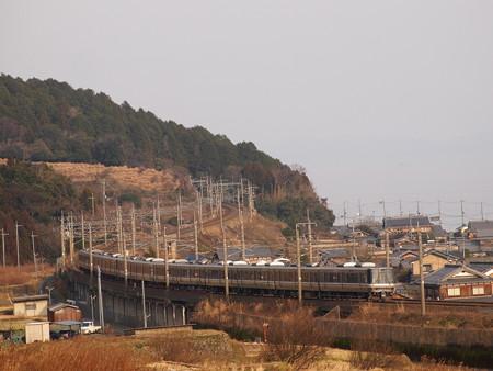 223系新快速 湖西線近江高島~北小松04